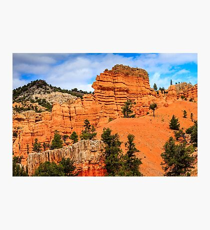 Red Canyon Area Utah Photographic Print