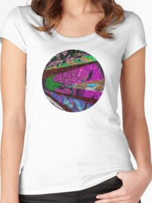 Lavender Moon Women's Fitted Scoop T-Shirt