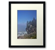 Northern CA Coastline Framed Print