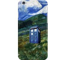tardis in Rural iPhone Case/Skin
