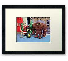 Holiday Knights Framed Print