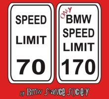 Bmw speed limit Kids Clothes