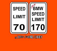 Bmw speed limit Unisex T-Shirt