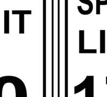 Bmw speed limit Sticker