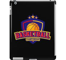 Sport badge for tournament or championship  iPad Case/Skin