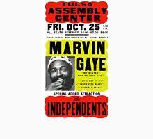 Marvin Gaye Show Poster optimized for white shirts Classic T-Shirt