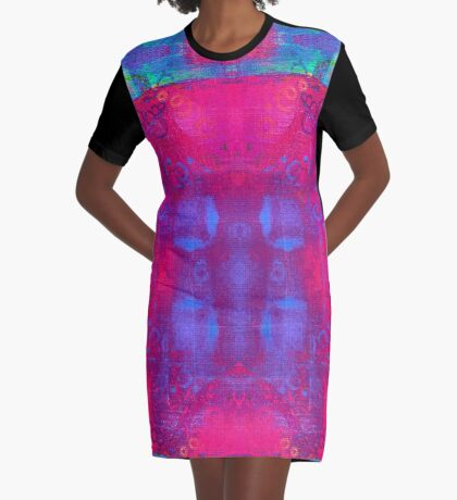 Carnival Daze Graphic T-Shirt Dress