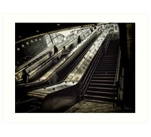 Hudson Yards Subway Station Art Print