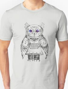 Futuristic Mechanical owl T-Shirt