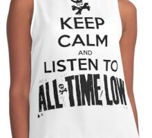 KEEP CALM - ALL TIME LOW Contrast Tank