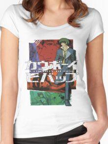 COWBOY BEBOP #09 Women's Fitted Scoop T-Shirt
