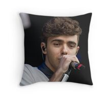 Nathan Sykes Throw Pillow