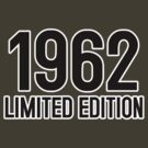 1962 LIMITED EDITION by mcdba