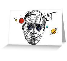 Gustav Theodore Holst Greeting Card
