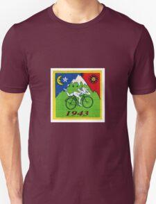 albert hoffman bike 1943 Acid lsd tabs Unisex T-Shirt