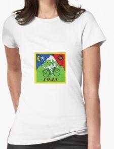albert hoffman bike 1943 Acid lsd tabs Womens Fitted T-Shirt