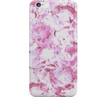 Pink Abstract Floral Pattern iPhone Case/Skin