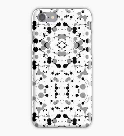 Marble Tears, White iPhone Case/Skin