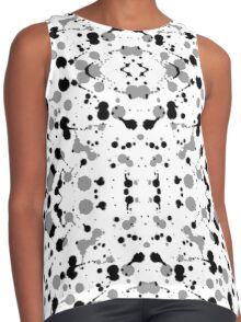 Marble Tears, White Contrast Tank