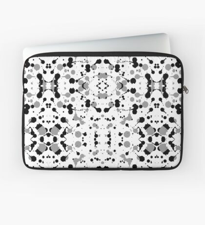 Marble Tears, White Laptop Sleeve