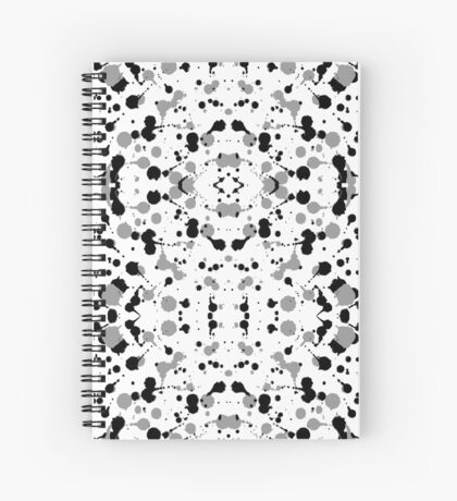 Marble Tears, White Spiral Notebook