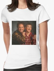 tim and eric news Womens Fitted T-Shirt