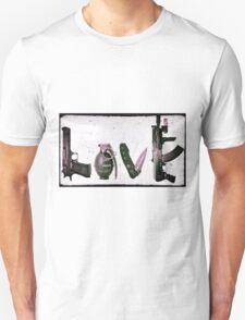 'LOVE' GUNS  Unisex T-Shirt