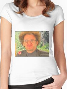 dr steve brule sweetberrywine Women's Fitted Scoop T-Shirt