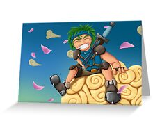 Young Hero Greeting Card