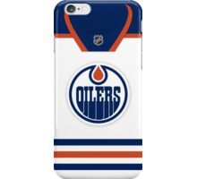 Edmonton Oilers Away Jersey iPhone Case/Skin