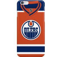 Edmonton Oilers Alternate Jersey iPhone Case/Skin
