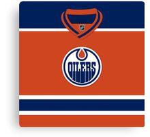Edmonton Oilers Alternate Jersey Canvas Print