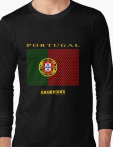 PORTUGAL, CHAMPIONS Long Sleeve T-Shirt