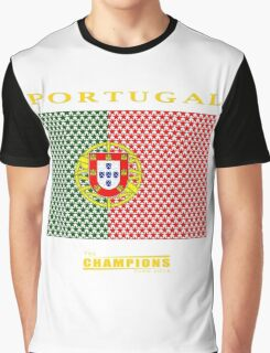 PORTUGAL, CHAMPIONS Graphic T-Shirt