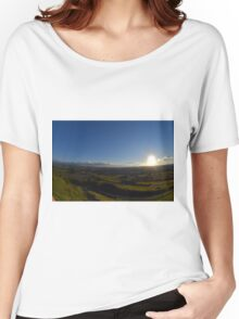Sunset in Yorkshire Women's Relaxed Fit T-Shirt
