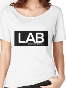 The Black Strip Tee - Lab Bike Company Women's Relaxed Fit T-Shirt