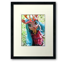Isi Dawndancer from Monster High♥ Framed Print