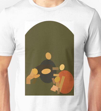 Da Vinci's Shape of Time Unisex T-Shirt