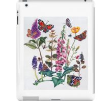 Butterflies and Buddleia iPad Case/Skin