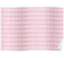 Make America Great Again Hotline Bling Parody Poster