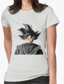 Black Goku Womens Fitted T-Shirt