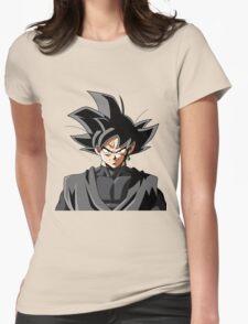 Black Goku Womens Fitted T-Shirt