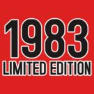 1983 LIMITED EDITION by mcdba