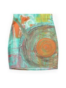 Big Band Mini Skirt
