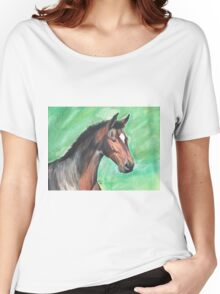 Bay Filly Women's Relaxed Fit T-Shirt