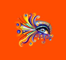 Arubissina V1 - fish eye Unisex T-Shirt