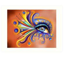 Arubissina V1 - fish eye Art Print