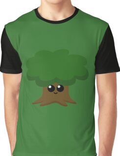 Happy Little Tree Graphic T-Shirt