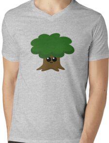 Happy Little Tree Mens V-Neck T-Shirt