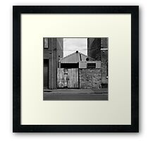 Feeling the Squeeze? Framed Print